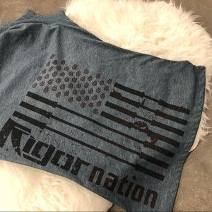 Tops - Rigor Nation CrossFit Zoo Graphic T Shirt